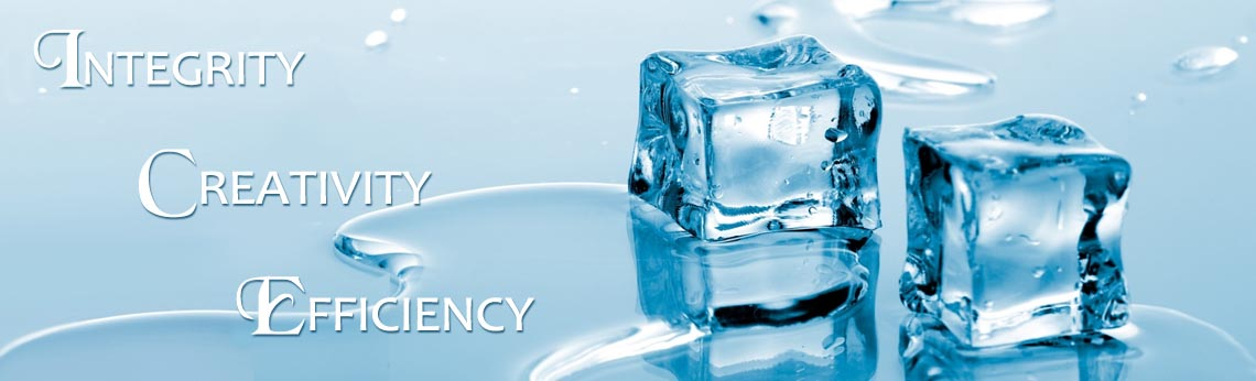 ICE - Integrity - Creativity - Efficiency